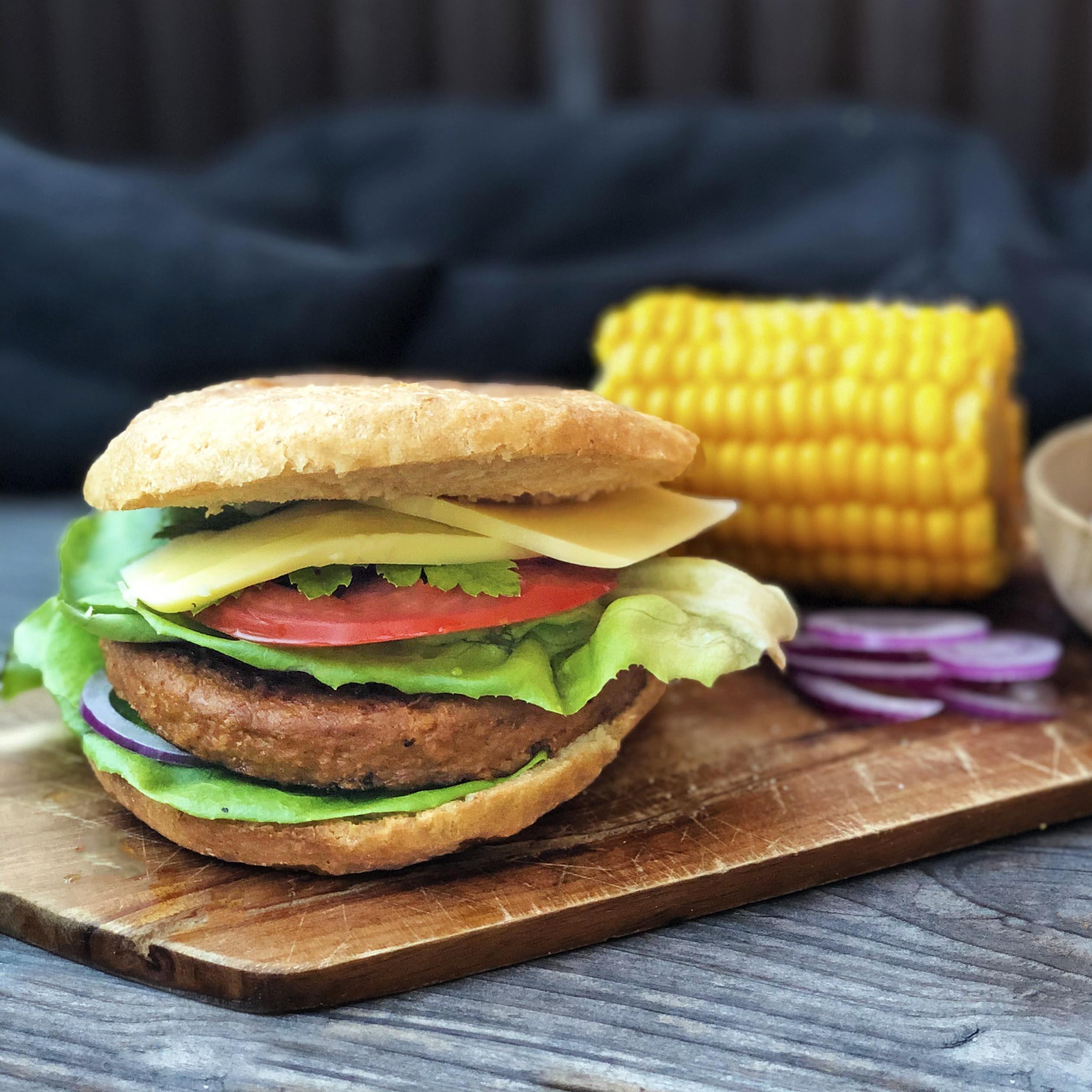 Glutenfritt Hamburgerbröd